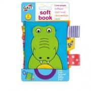 James Galt & Co. Ltd Galt Soft Book Libretti In Stoffa Disegno Coccodrillo 1 Pezzo
