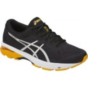 Asics Gt-1000 6 Running Shoes For Men(Black, Silver, Gold)