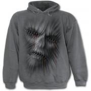 kapucnis pulóver férfi - Stitched Up - SPIRAL - E018M463