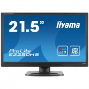 iiyama Prolite monitor LCD LED 21.5\ E2280HS-B1 Full HD, 5ms, DVI, HDMI, speakers