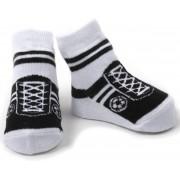 Baby Emporio Voetbal sokjes-Zwart-voor baby 0-12 maanden-Anti slip zooltjes-Kraamcadeau-Baby shower