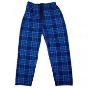 Pantaloni de casa grosi Cargo Bay pentru barbati imprimeu dungi Albastru/Bleumarin