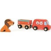Masinuta Janod My Story - Happy Circus Truck and Lion