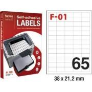 Etikete ILK 38x21,2mm pk100L Fornax F-01