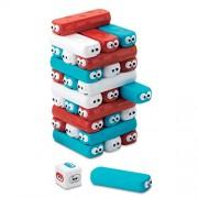 Shopaholic 30pcs/Set Plastic Domino Stacker Extract Educational Jenga Tumbling Tower Stacking Blocks Game Indoor Toys for Children