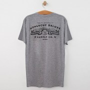 Uppercut Deluxe Uppercut Union T-Shirt - Grey/Black Print - M - Grey/Black
