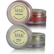 Khadi Lip Balm (Combo Pack WATERMELON LYCHEE LIP BALM)
