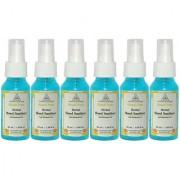 Khadi Pure Herbal Hand Sanitizer - 50ml (Set of 6)
