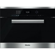 Miele PureLine DGM6401 CleanSteel Steam Oven with Microwave
