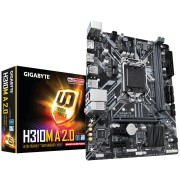 MB Gigabyte H310M A 2.0, LGA 1151v2, micro ATX, 2x DDR4, Intel H310, DP, HDMI, 36mj
