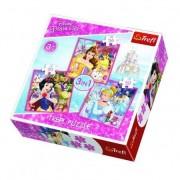 Trefl Puzzle 3 u 1 Princess (12-348330)