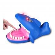 Cartoon Creative Morder La Mano Juguetes Novedosos, Shark Forma Con Efectos De Luz Y Sonido