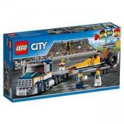 Конструктор ЛЕГО Сити - Транспортьор за драгстери, LEGO City, 60151