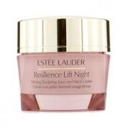 Estee Lauder Resilience Lift Night Crema Reafirmante Esculpidora de Cuello y Rostro (Todo Tipo de Piel) 50ml/1.7oz