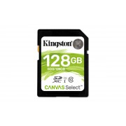 SD Kingston Canvas Select SDS 128GB class10 UHS-I SDXC(80MB/s-10MB/s)