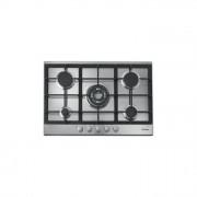 Candy CPG75SWPX Piano Cottura da Incasso 75cm 4 Fuochi 1 Tripla Corona Inox