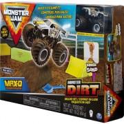 Auto Monster Jam Deluxe + gri nisip cinetică (6044986/20103746)