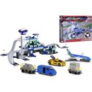 Set de joaca Majorette Creatix Aeroport, 5 vehicule incluse