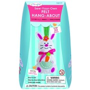My Studio Girl Sew-Your-Own Felt Hang-About Rabbit Kit