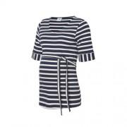 MAMALICIOUS gestreept zwangerschaps T-shirt Selina blauw