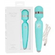 PILLOW TALK - CHEEKY WAND MASSAGER TEAL