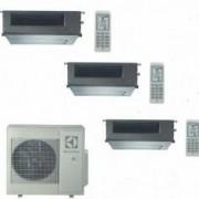 Electrolux CLIMATIZZATORE CONDIZIONATORE ELECTROLUX CANALIZZABILE TRIAL 9+9+12 INVERTER EXU27JEWI DA 9000+9000+12000 BTU