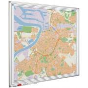 Smit Visual Whiteboard landkaart - Antwerpen
