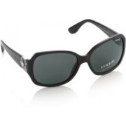 Vogue Over-sized Sunglasses(Grey)
