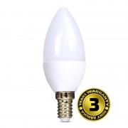SOLIGHT LED svíčka 6W/4000K/450Lm/E14/230V