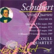 Video Delta Schubert,Franz - Vol. 6-String Quartets Coull Quartet - CD