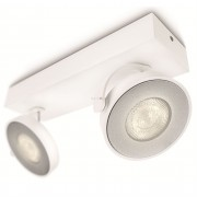 Philips 53172/31/P0 myLiving Clockwork fali/mennyezeti LED spot 2x4,5W 1000lm IP20 30000h