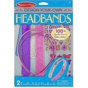 Design-Your-Own Headbands + FREE Melissa & Doug Scratch Art Mini-Pad Bundle [55482]