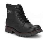 BB LAA Steel Toe Boots For Men(Black)