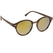 Arzonai Manila MA-039-S3 Unisex Round Sunglasses