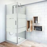 Roth Boční zástěna ke sprchovým dveřím 90x200,8 cm pravá Roth Tower Line chrom lesklý 725-900000P-00-20