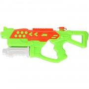 Merkloos 1x Waterpistolen/waterpistool groen van 42 cm kinderspeelgoed