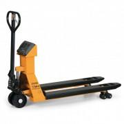 B2B Partner Paletový vozík s váhou 1500 kg/1 kg, vidlice 2000 mm