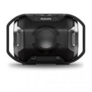 Тонколона Philips, 1.0, 4W, Bluetooth 4.0, 3.5мм жак, черен, IPX7, ударостойчив