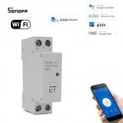 WiFi inteligentný spínač 1P 20A Din Rail eWeLink APP