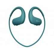 Sony NW-WS413L Sport Hörlurar In-ear MP3-Player, Öronbygel, Vattentålig Blå