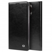 Huawei Mate 9 Pro, Mate 9 Porsche Design Qialino Leather Case - Black