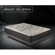Colchón de muelles ensacados Memory Vex Spring de Komfortland