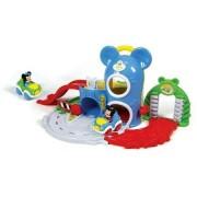 Centru de activitati interactiv cu masinute si sunete Baby Mickey si Baby Minnie