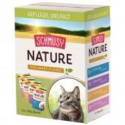Schmusy -5% Rabat dla nowych klientówPakiet próbny Schmusy Nature Vollwert Flakes, 12 x 100 g - Drób, 12 x 100 g Darmowa Dostawa od 99 zł