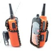 Midland Housse cuir pour Talkies-Walkies G9 Pro (orange)