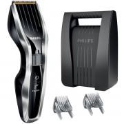 Aparat de tuns Philips HC3424/80, 13 Trepte, Acumulator, Negru/Albastru
