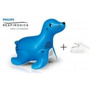 Inhalátor Philips Respironics Sami the Seal + Dospelá maska ZDARMA (Inhalátory)