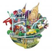 CubicFun City Scape New York Puzzle 3D 55 de piese