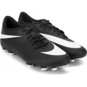 Nike BRAVATA II FG Football Shoes For Men(Black, White)