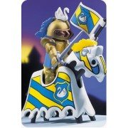 Playmobil Gold with Knight Horse